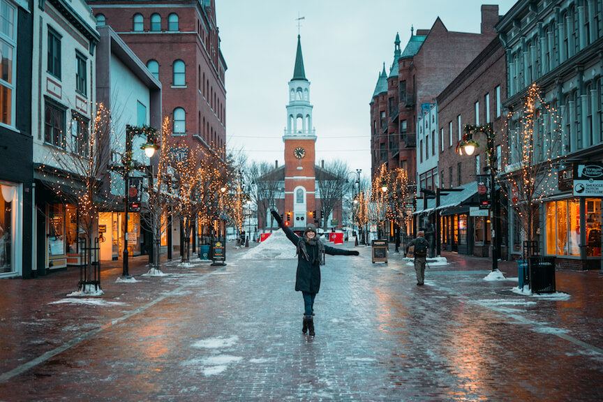 The Perfect Winter Getaway to Burlington, Vermont - Wanderluluu